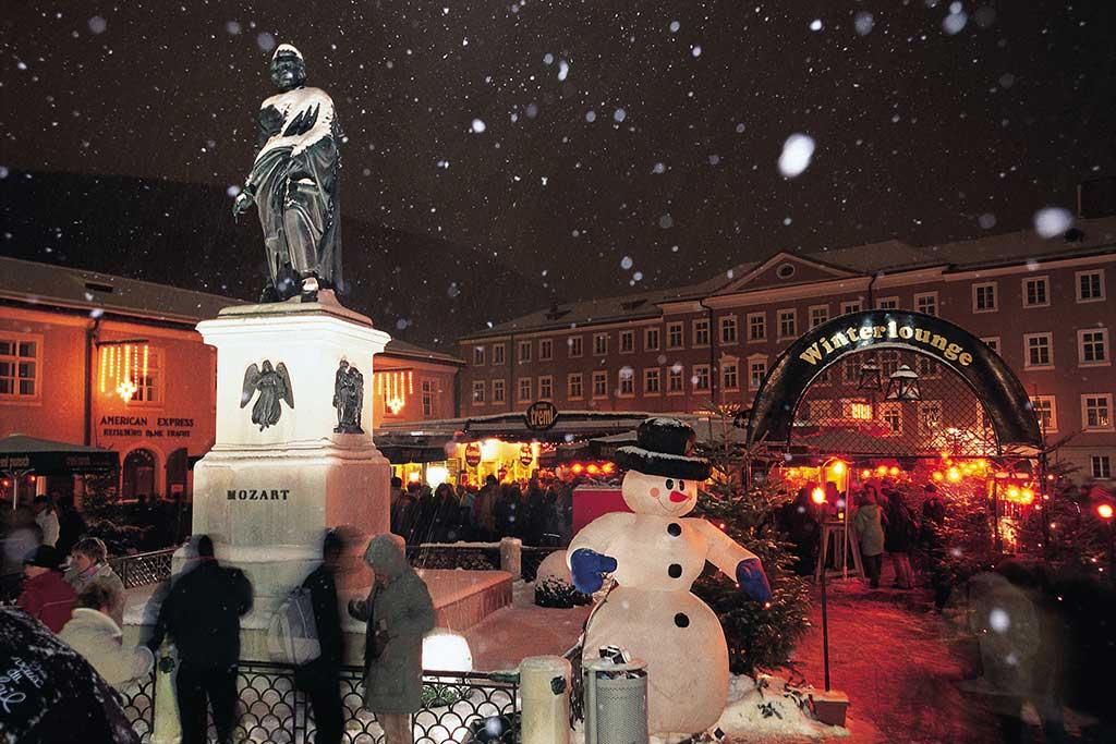 Winter am Salzburger Adventmarkt