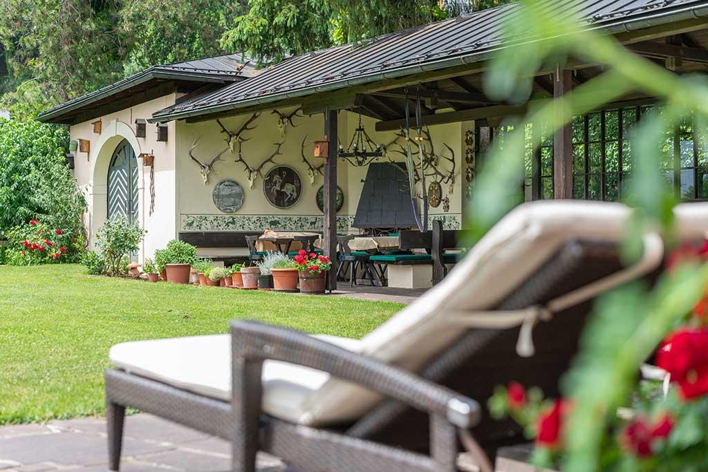Entspannen Sie in unserem Garten!